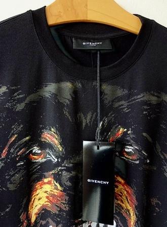 shirt givenchy givenchy rottweiler tee rottweiler
