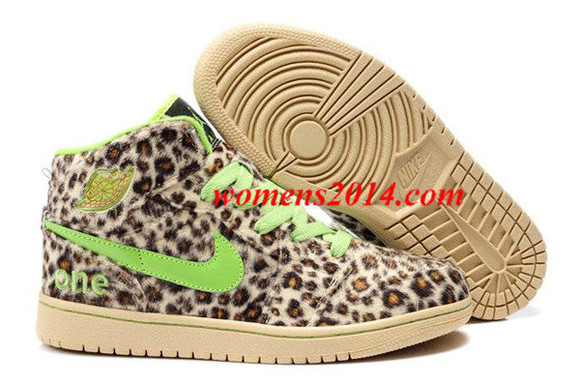 fur green winter shoes leopard air jordan 1 nike air jordan i mens brown