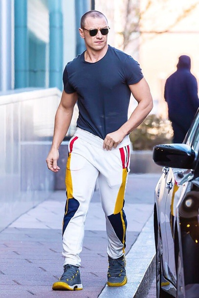 jeans colorful james mcavoy pants