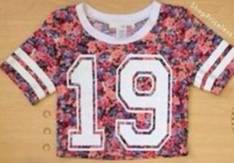 shirt floral floral 19 19