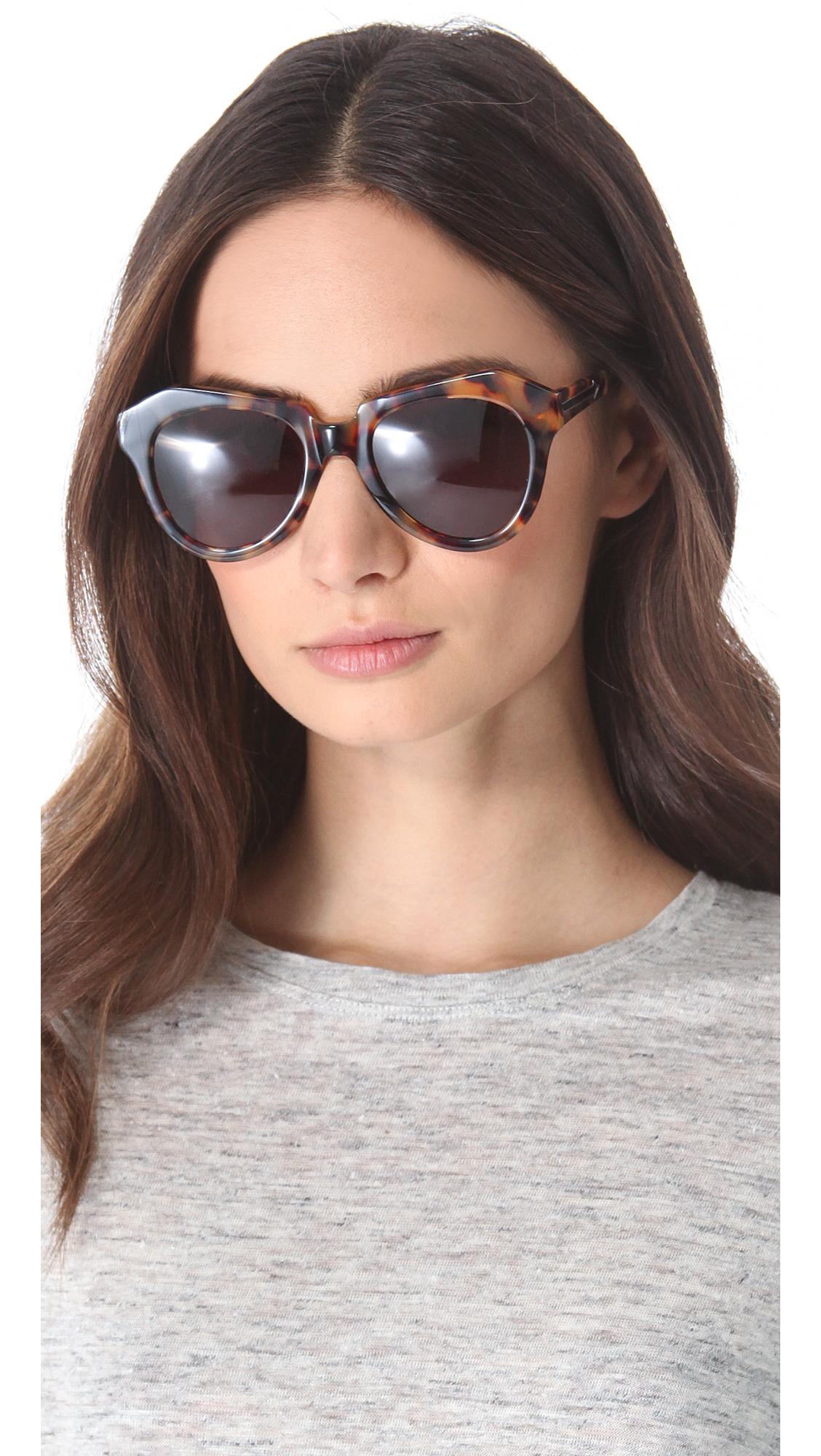 156df70e47 Karen Walker The Number One Sunglasses