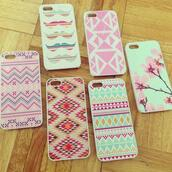 jewels,iphone 5 case,iphone cover,bag,phone bag,iphone,ethnic,moustache,rose,green,phone cover