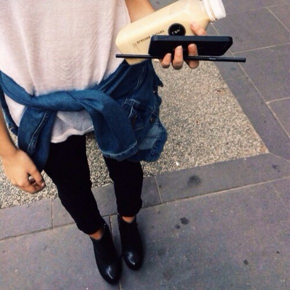 shoes cute girly grunge fashion rock model boots ankle boots black white rocker chic cali streetstyle harry styles t-shirt cardigan