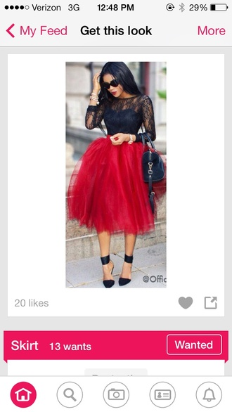tulle skirt puffy blouse tight