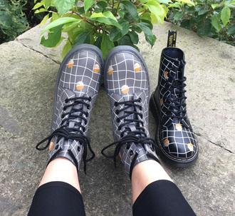 shoes combat boots it girl shop thanksgiving dr marten boots lace up platform shoes