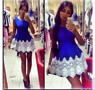 dress women blue dress marine blue sexy dress classy dress blue and white summer dress summer 2015 prom dresses girly classy
