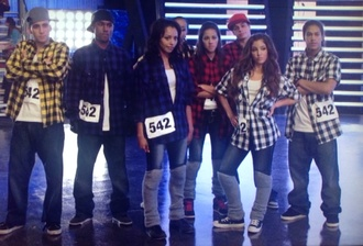 shirt checkered shirt purple shirt grey shirt red shirt yellow shirt melissa molinaro kat graham jeans dark jeans jeggings fit form fitting