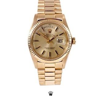 jewels gold watch rolex