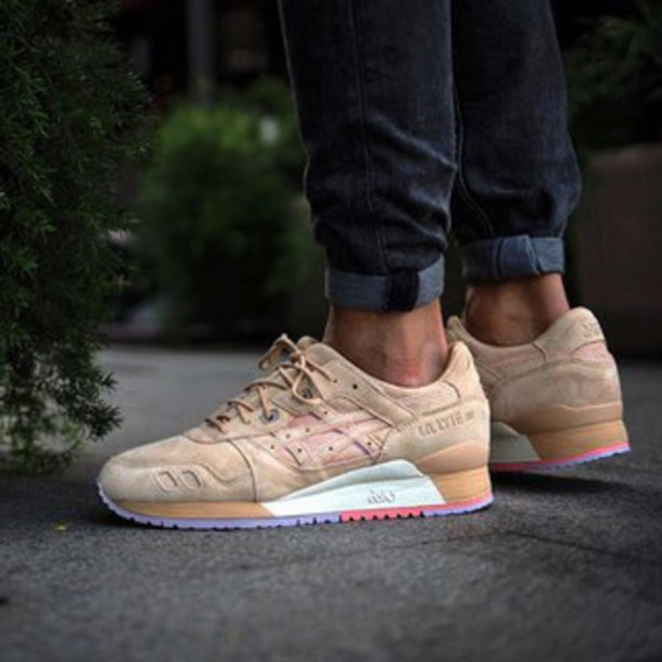 9588424f1fb2 shoes sand asics clot asics x clot asics gel lyte iii asics gel lyte 3  collaboration