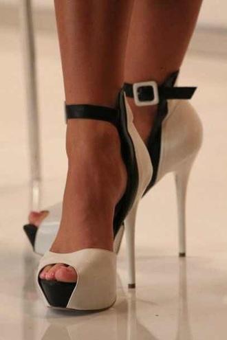 shoes black heels nude pumps nude heels ankle strap heels platform shoes