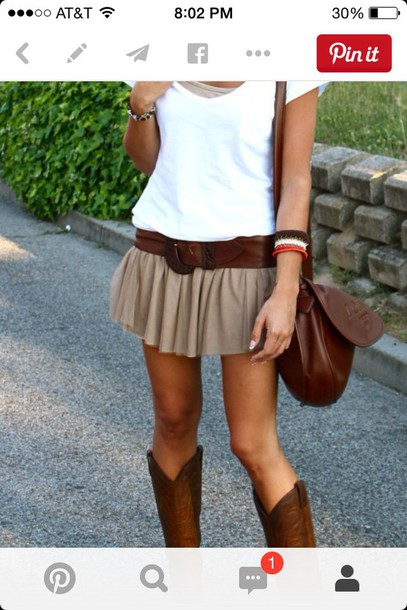 skirt spring outfits
