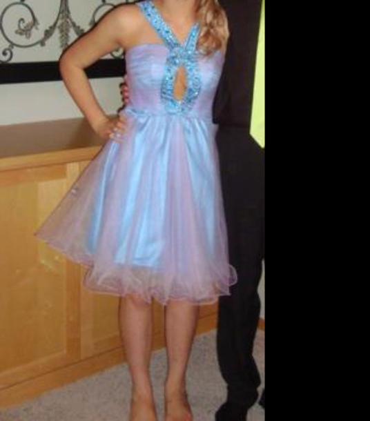 dress blue dress prom dress homecoming dress homecoming prom tulle dress tulle skirt
