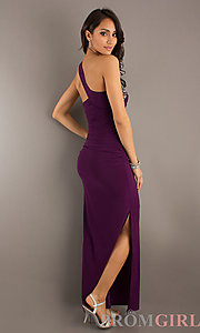 Long One Shoulder Prom Dresses, One Shoulder Prom Gowns- PromGirl