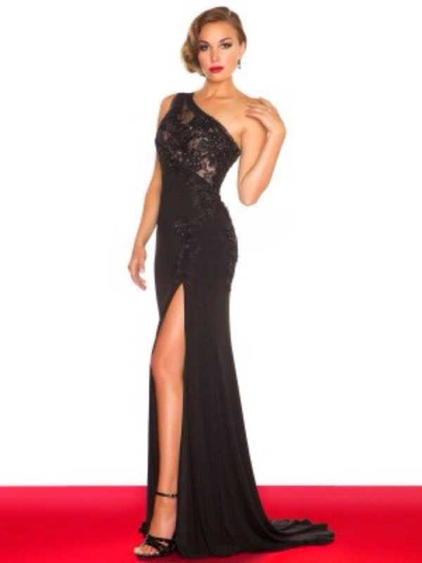 dress black prom dress prom dress maxi dress long prom dress