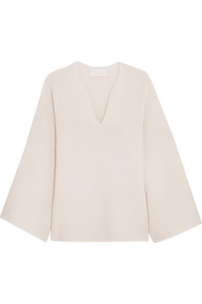 Chloé Chloé - Oversized Cashmere Sweater - Off-white