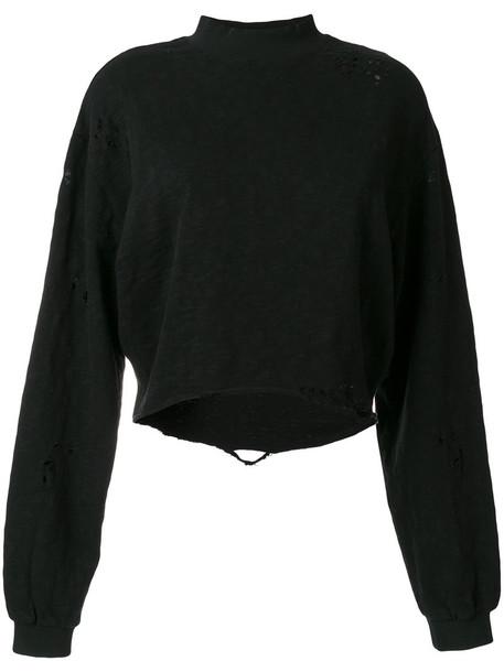 Thom Krom sweatshirt women cotton black sweater
