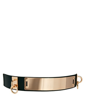 Asos plate   ring waist belt at asos
