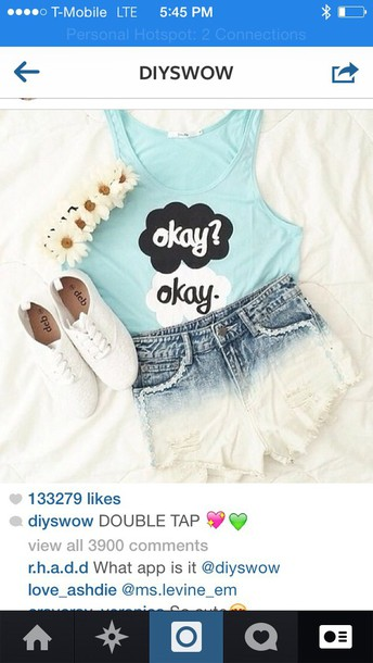 blouse the fault in our stars