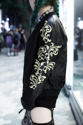 jacket,perfecto,leather,faux leather,japanese,japan,beautiful,all black everything,black