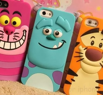 phone cover disney monsters inc winnie the pooh tigger alice in wonderland