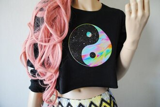 t-shirt бренд sweater shirt grunge lovely rainbow top crop tops