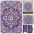 Indian Blue Purple Hippie Ethnic Bohemian Psychedelic Ombre Mandala Handmade Tapestry