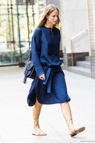 le fashion image blogger dress bag