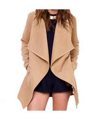 coat beige streetwear it girl shop winter coat winter outfits fall outfits
