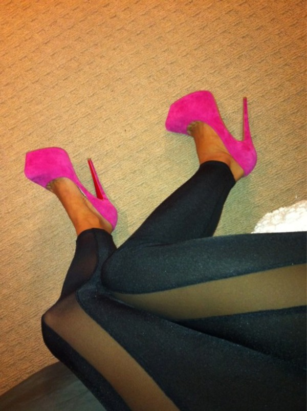 leggings pink leggings black fashion shoes