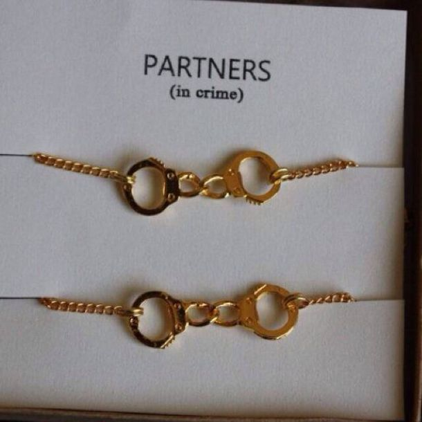 Partners In Crime Gold Bracelets July 2017