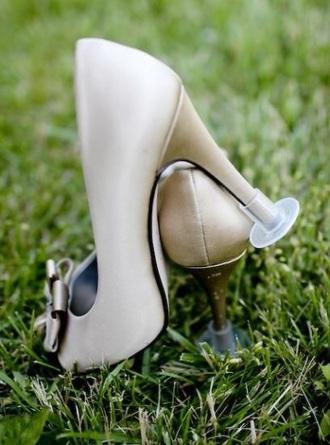 home accessory heel protector heels country wedding plastic