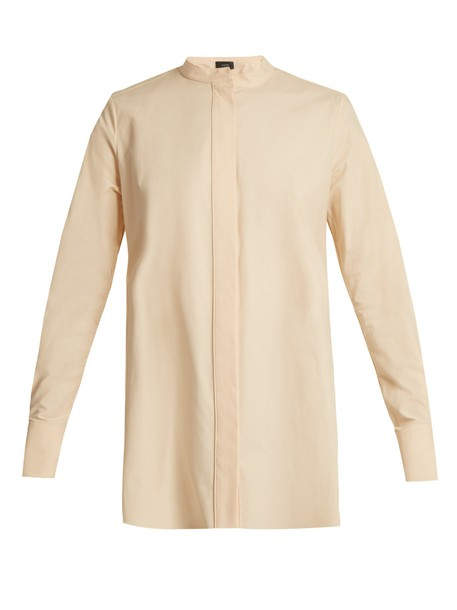 Joseph shirt cotton nude top