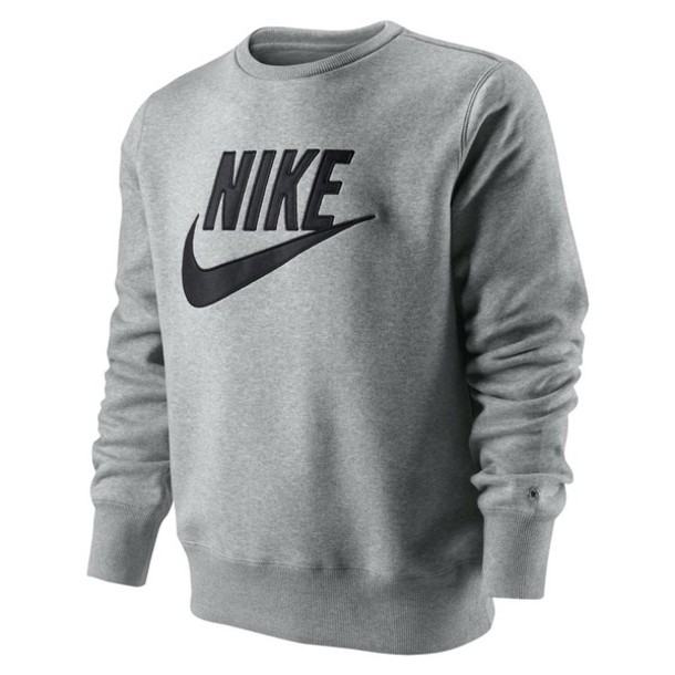 sweater nike grey