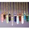 Luck crystal stone pendant necklace - 11 colors | awesome world - online store