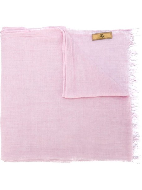 FAY scarf purple pink