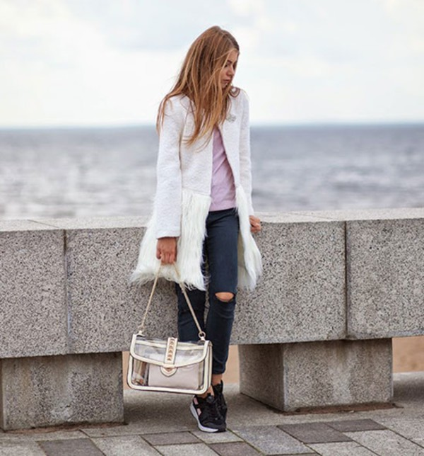 bag shoulder bag See through bag summer outfits streetstyle stylemoi