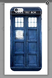 phone cover,tardis blue,doctor who,iphone case