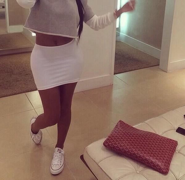 t-shirt skirt white skirt white skirt ! white mini summer mini skirt short party outfits shirt