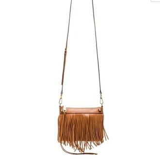 bag rebecca minkoff fringes leather cross body revolve revolve clothing