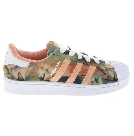 newest collection 0d93e 72bc7 Adidas Superstar Sneakers in Pink Tropical Print NEW from Glue Store