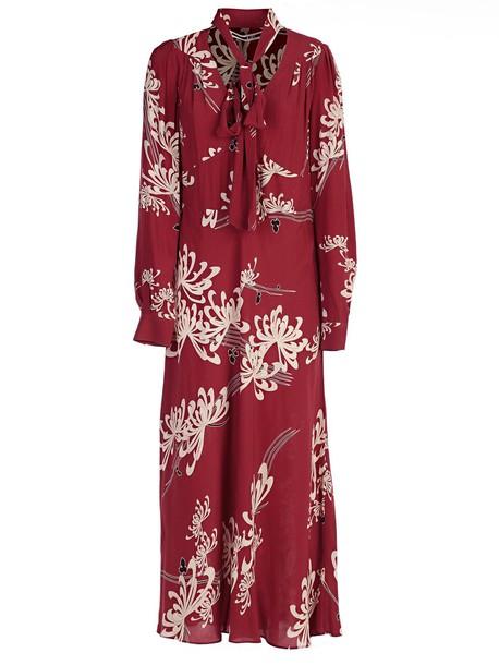 McQ Alexander McQueen dress red