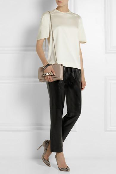 Valentino | Va Va Voom leather shoulder bag | NET-A-PORTER.COM