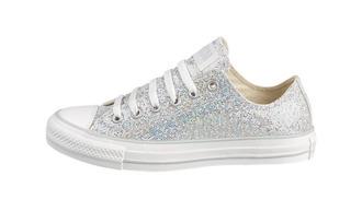 shoes converse glitter sparkle all star lo glitter
