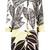 Herno leaf print coat, Women's, Size: 44, Cotton/Spandex/Elastane/Polyester/Acetate