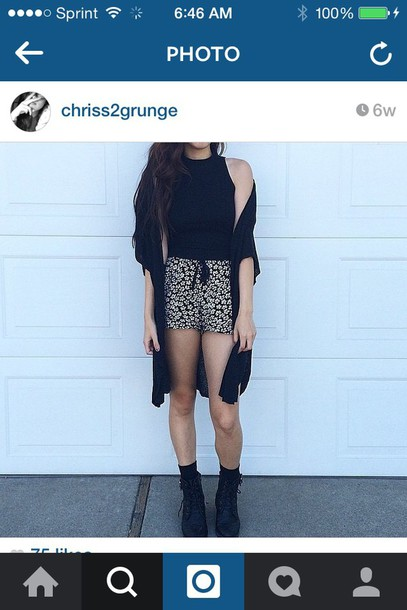 shorts hipster tumblr cute grunge shoes sweater shirt