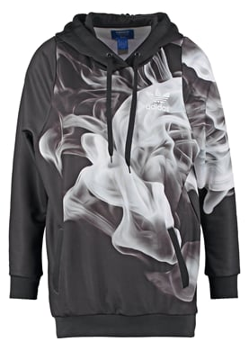 adidas Originals RITA ORA WHITE SMOKE - Hoodie - black - Zalando.co.uk