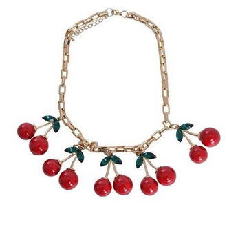 cherry dance necklace jewels