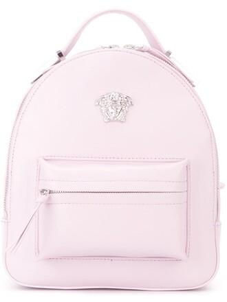 mini backpack purple pink bag