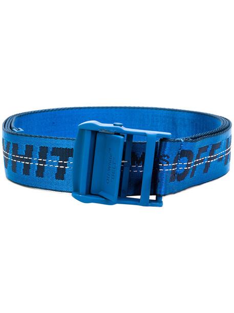 Off-White women classic belt blue