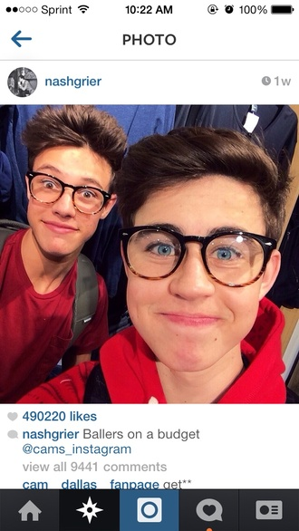 sunglasses accessories round hipster nash grier cameron dallas nerd hipster glasses fake half brown half black